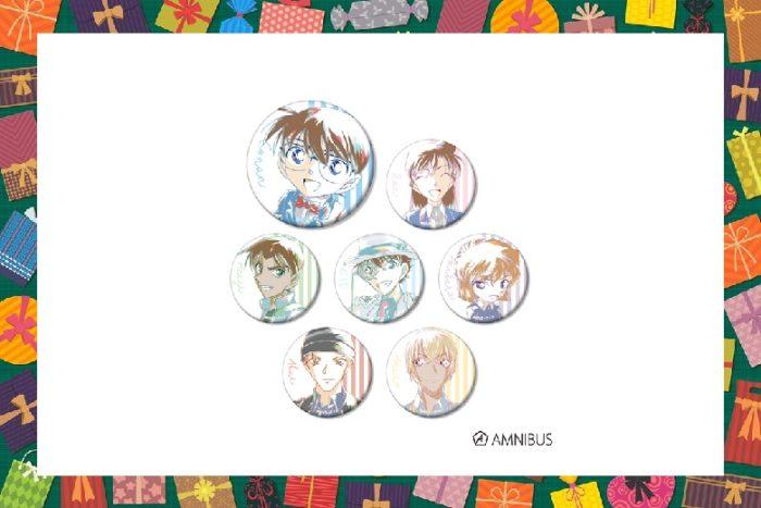 【名探偵コナングッズ】トレーディングAni-Art缶バッジvol.2を通販で!【2020年11月発売】