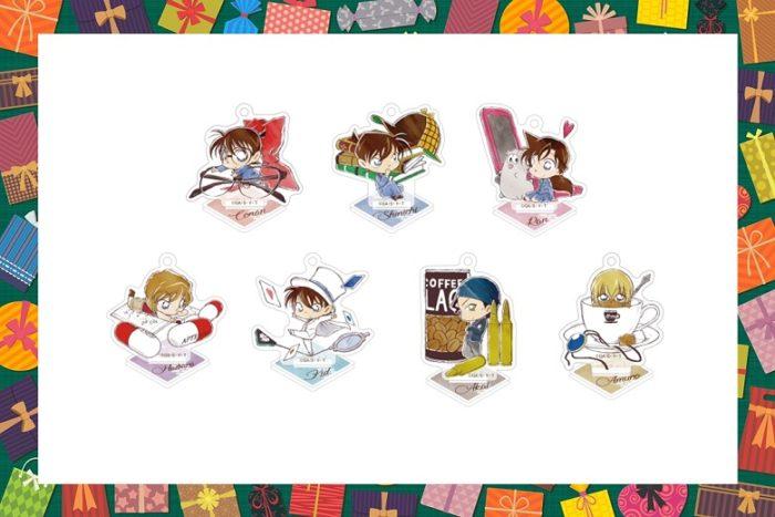 【名探偵コナングッズ】ミニチュアシリーズトレーディングアクリルスタンドキーホルダーを通販で!【2020年9月発売】