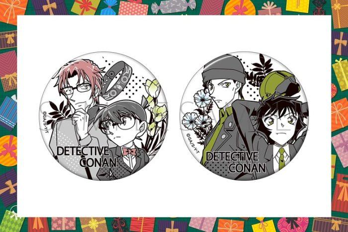 【名探偵コナングッズ】缶バッジ/スタイルガイドを通販で!【2020年12月発売】