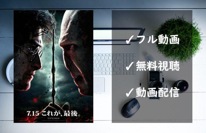 「ハリーポッターと死の秘宝 PART 2」フル動画の無料視聴を解説!VODの配信状況まとめ!