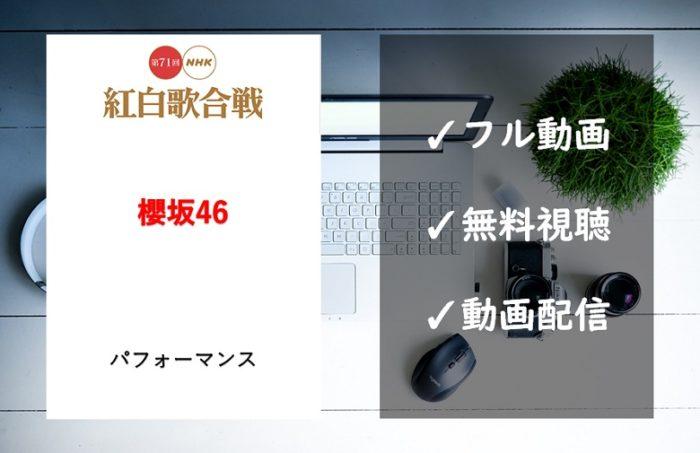 【紅白歌合戦2020】櫻坂46の曲は「Nobody's fault」!見逃し動画のフル視聴方法は?